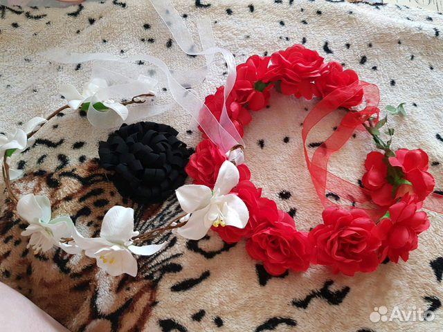 Венки для волос 89274654062 купить 2