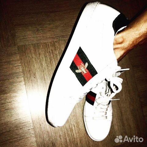 677a1f4a5e97 Продам белые Gucci классика купить в Москве на Avito — Объявления на ...