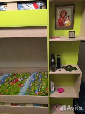 Детская двухэтажная кровать 89531389168 купить 2