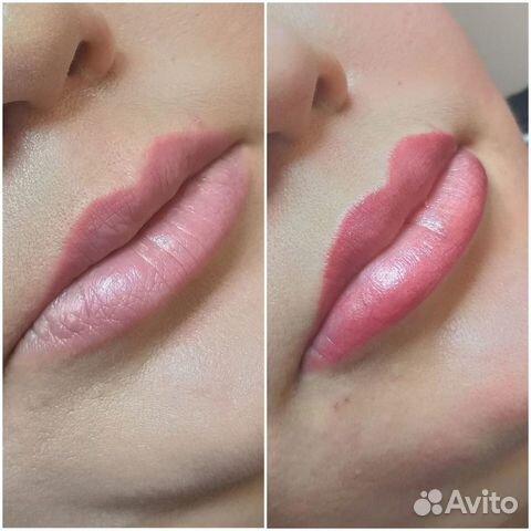 Перманентный макияж бровей (татуаж)  89275558544 купить 1