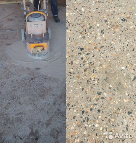 Авито шлифовка бетона полистирольного бетона