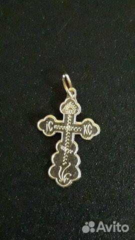 Крестик золотой 89216328234 купить 1