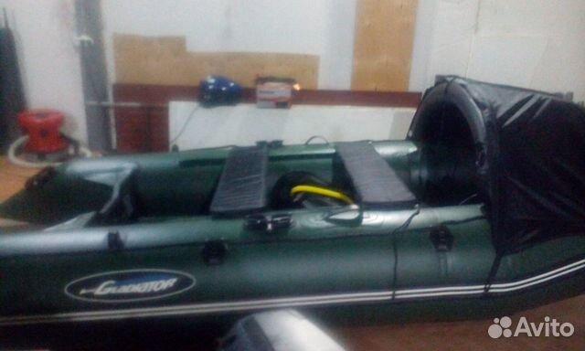 Лодка Гладиатор. мотор Сиа-Про 89128106863 купить 1