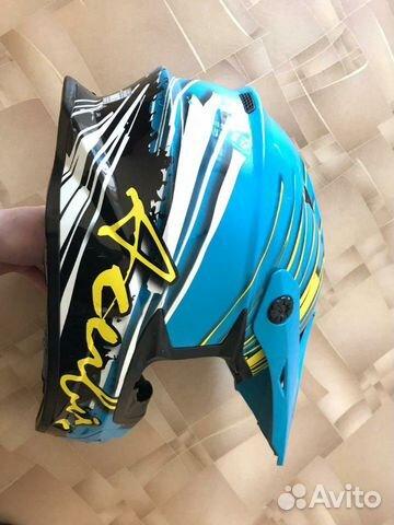 Шлем Acerbis X-Pro, Brush (крепл, GoPro) мотоэкип 89119787672 купить 2