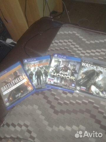 Игры для Sony PS4 и одна для Sony PS3  89602173083 купить 1