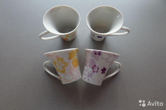 Набор кофейных чашек 89876961755 купить 2