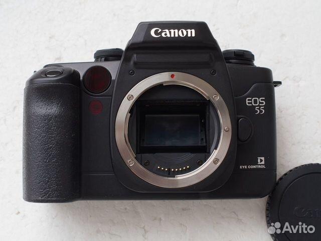 Canon EOS 50 Canon 55 Canon Elan II черный корпус купить 2