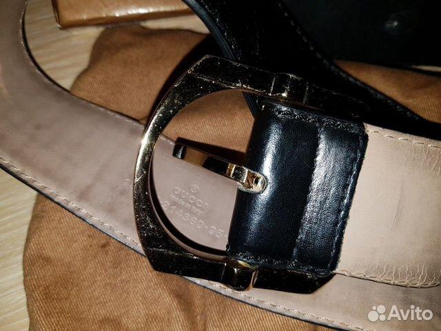 Ремень мужской Gucci оригинал 89655295005 купить 4