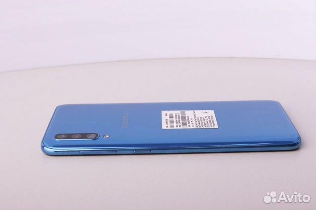 Телефон Samsung A505F/DS Galaxy A50 64Gb Blue
