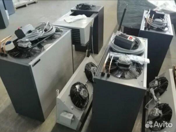 Split system refrigeration for cold store