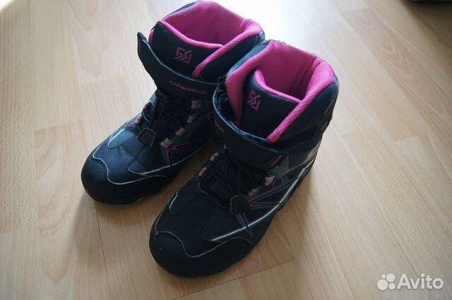 Зимние ботинки р.34  89532526002 купить 2