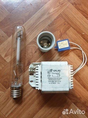 Комплект лампы днат 400