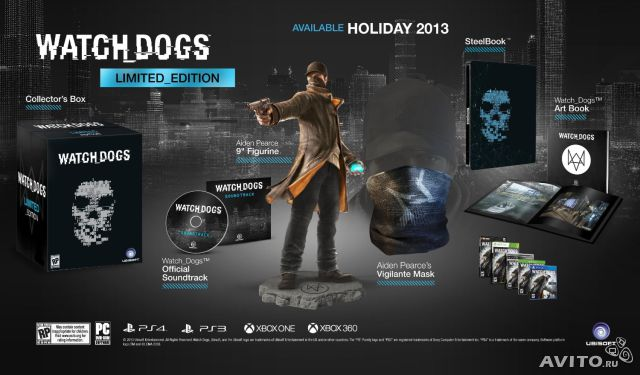 Watch Dogs Limited Edition (PS4)— фотография №1