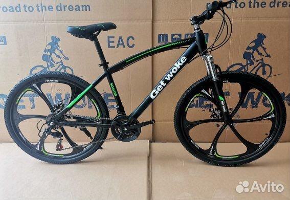 Велосипед горный GW на литье