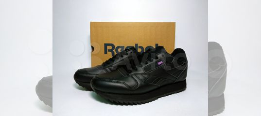 Кроссовки Reebok Classic черные кожаные 36-40 купить в Москве на Avito —  Объявления на сайте Авито f62abf9b661e5