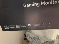 Монитор acer, SAMSUNG. 240 Hz игровой