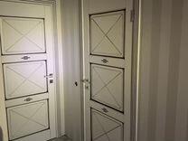 Межкомнатная дверь м5 с багетной рамкой
