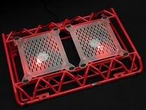 Подставка охлаждающая для ноутбука, STM IP33 Red
