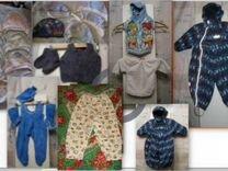Комбез-конверт, чепцы, штаны, безрукавки,носки от0
