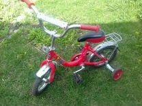 Детский велосипед красный