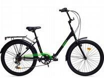 24'' Aist Аист Smart 2.1 складной велосипед 7-скор