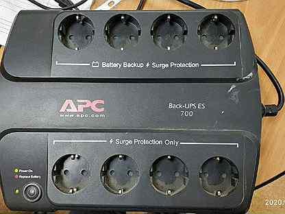 Ибп APC Back-UPS ES BE700-RS, 700 Ватт