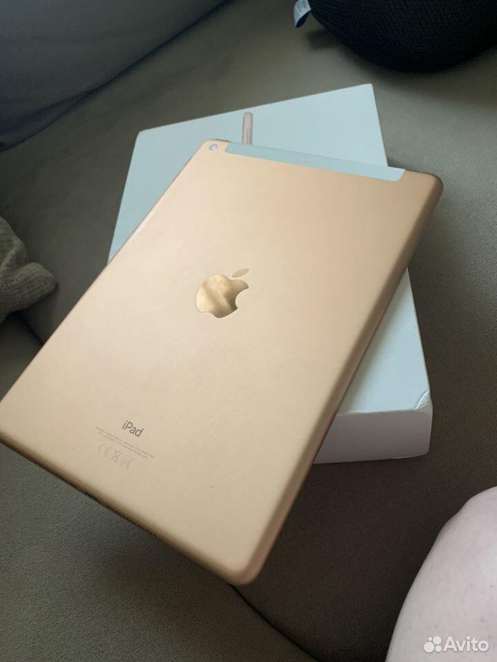iPad 9.7, wi-fi + sim 6 поколение, 2018г, 32GB  89503860404 купить 1