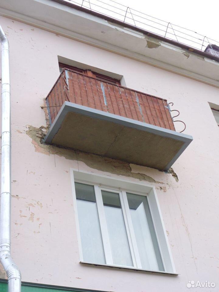 Ремонт входных групп, балконных плит, козырьков  89092920699 купить 7