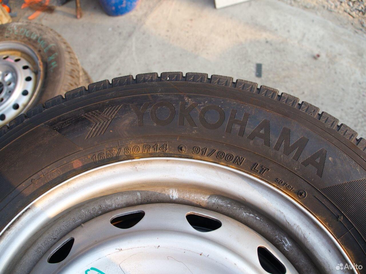 Колеса 165/80 R14 Yokohama зима Probox в Магадане