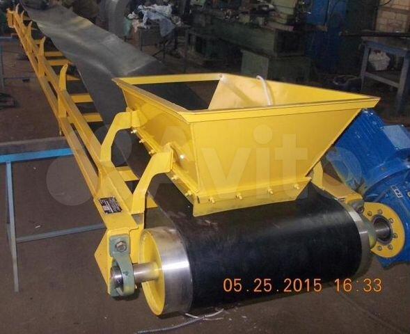 Транспортер для бетона купить в скорость конвейера м мин