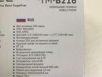 TeXet тм-в216