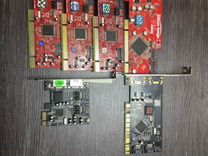 Продается Контроллеры SATA PCI (бу)