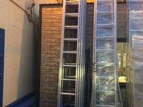 Лестница трехсекционная Centaure ск 3х14 Н-9,3м — Ремонт и строительство в Москве