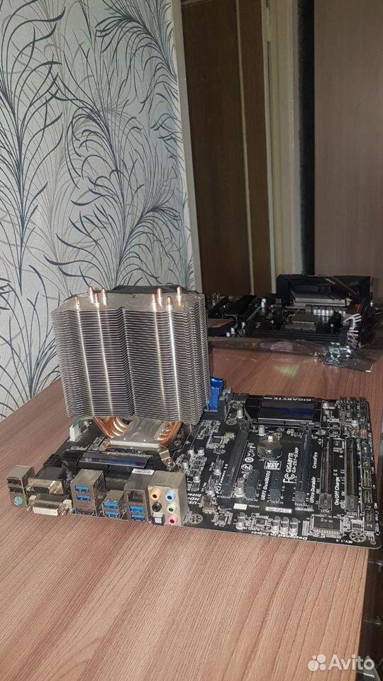 Intel i5-4460,Gigabyte LGA1150 Z87, zalman cnps10x  89232862022 купить 3