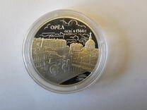 Монета 3 рубля серебро 2016 Орёл