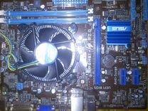 Asus P8H61 MX R2.0 - 8Гб озу - i3 3220 — Товары для компьютера в Санкт-Петербурге