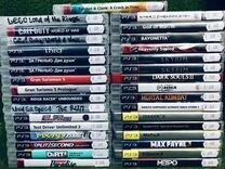 Много игр на дисках для сони пс3