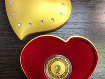 Монета Elizabeth II, Лебеди подарок молодожёнам