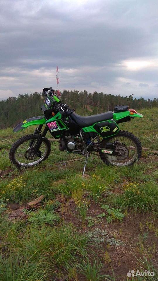 Kawasaki KDX 200 SR  89148303508 купить 2