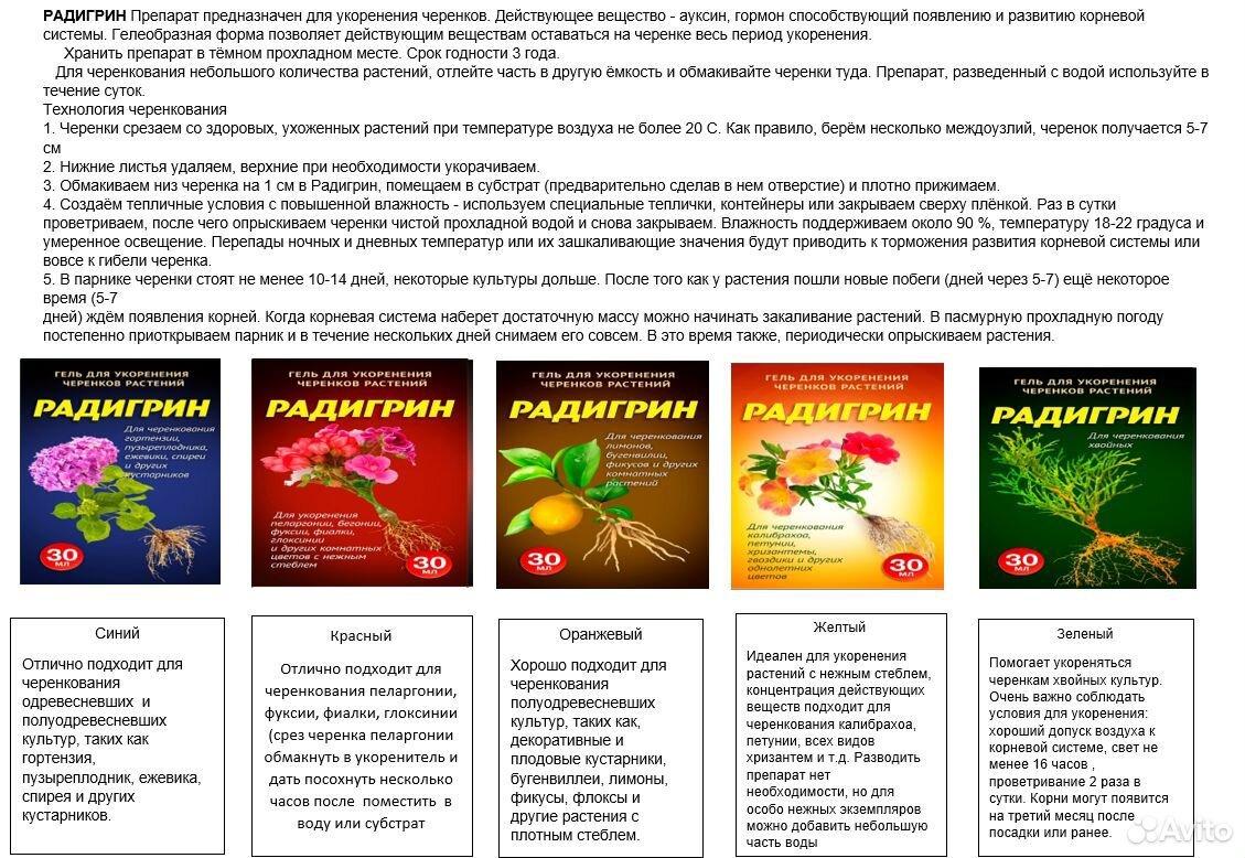 Радигрин для черенкования растений  89029239959 купить 2