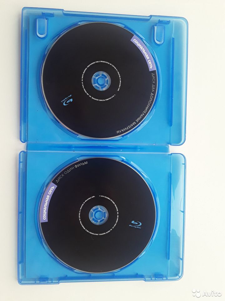Социальная Сеть Blu-ray Disc