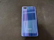 Honor 10 64 gb мерцающий синий
