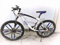 Велосипед новый на литых дисках