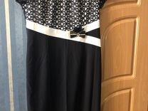 Платье с жакетом (размер 48-50)