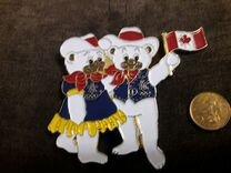 Значок талисман большой олимпийских игр 1988 Хайди — Коллекционирование в Геленджике