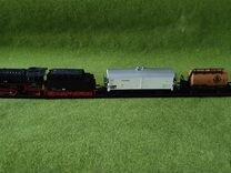 Железная дорога. Паровоз BR41 1 87
