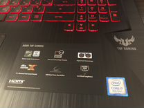 New asus TUF Gaming FX705GD i7-8750H/1050 4Gb/IPS