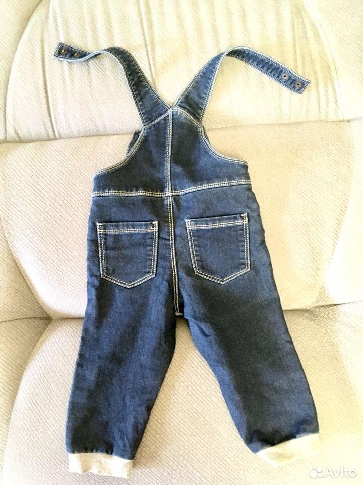 Детский джинсовый комбинезон  89187861219 купить 2
