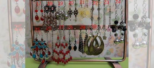 f28198d381f2 Серьги, браслеты, колье, бусы, кольца, брошки купить в Москве на Avito — Объявления  на сайте Авито