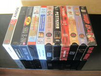 Коллекция видеокассет '80-х; произвольные записи
